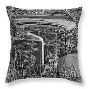 Growing Weeds Throw Pillow
