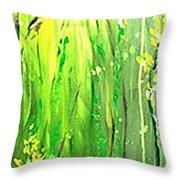 Growing Wild Throw Pillow