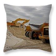 Grownup's Sandbox Throw Pillow