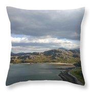 Gruinard Bay Throw Pillow