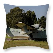 Grumman Hu-16 Albatros Of The Hellenic Throw Pillow