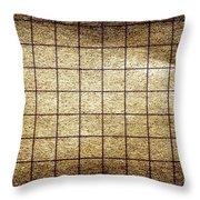 Grunge Paper Throw Pillow