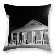 Gt Town Hall Throw Pillow