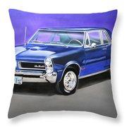 Gto 1965 Throw Pillow