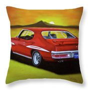 Gto 1971 Throw Pillow