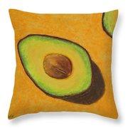 Guacamole Time Throw Pillow