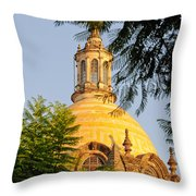 The Grand Cathedral Of Guadalajara, Mexico - By Travel Photographer David Perry Lawrence Throw Pillow