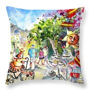 Guadalest 02 Throw Pillow