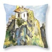 Guadalest 04 Throw Pillow