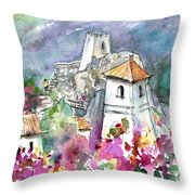 Guadalest 07 Throw Pillow