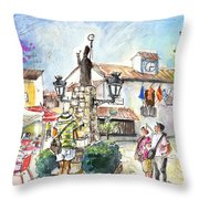 Guadalest 08 Throw Pillow