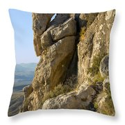Guadalupe Peak Trail Throw Pillow