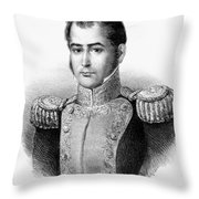Guadalupe Victoria (1789-1843) Throw Pillow
