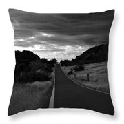 Guanica Dry Forest B W 1 Throw Pillow