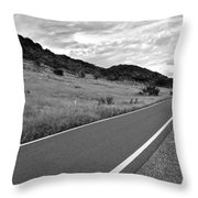Guanica Dry Forest B W 2 Throw Pillow