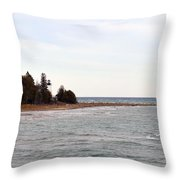 Guard On The Point Throw Pillow