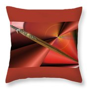 Guarded Heart Throw Pillow