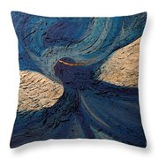 Guardian Angel By Jrr Throw Pillow