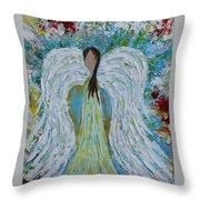 Guardian Angel V Throw Pillow