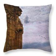 Guardian Of Hope Throw Pillow