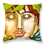 Guardian Of Nature Throw Pillow
