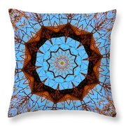 Guardian Of The Forest Throw Pillow by Gigi Dequanne