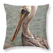 Guardian Pelican Throw Pillow