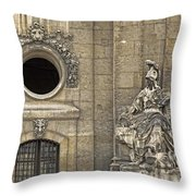 Guardians At The Gate - 2 Throw Pillow