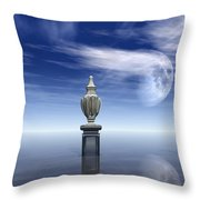 Guardians Of The Earth Throw Pillow