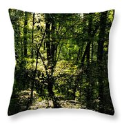 Guardians Of The Forest Throw Pillow