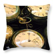 Guardians Of Time Throw Pillow