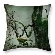 Guardians Throw Pillow