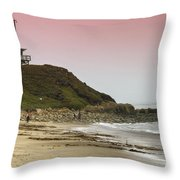 Guarding Lives Throw Pillow