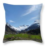 Guards Of Peace Throw Pillow