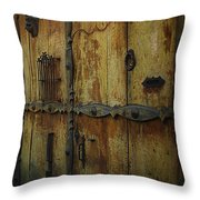Guatemala Door 2 Throw Pillow