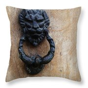 Guatemala Door Decor 2 Throw Pillow