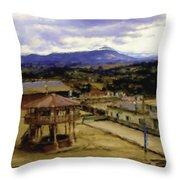 Guatemalan Roof Top Four Throw Pillow