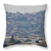 Guayaquil Overview Throw Pillow