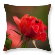 Guest Of The Queen Throw Pillow