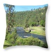 Guest Ranch Throw Pillow