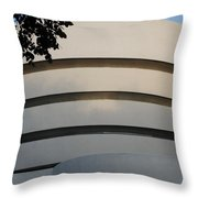 Guggenheim In The Round Throw Pillow