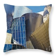 Guggenheim Museum Exterior Throw Pillow