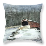 Guide Me Throw Pillow