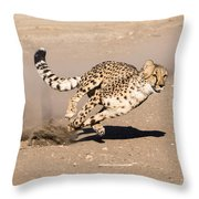 Guided Missile Throw Pillow