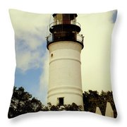Guiding Light Of Key West Throw Pillow