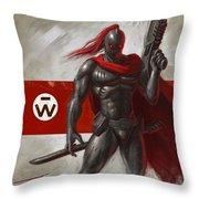 Guildsman Commander Throw Pillow