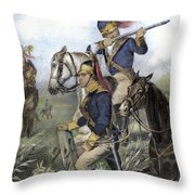 Guilford Courthouse, 1781 Throw Pillow