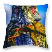 Guilty Pleasure Throw Pillow by Bob Orsillo