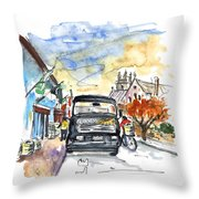 Guinness Delivery In Howth Throw Pillow