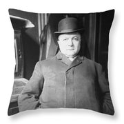 Guiseppe 'joe' Petrosino (1860-1909) Throw Pillow